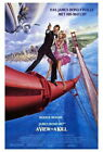 65866 A View To Kill Movie Roger Moore, Tanya Roberts Wall Poster Print AU $19.95 AUD on eBay
