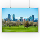 Denver, Colorado - Skyline - Photography A-93463 (Posters, Wood & Metal Signs)