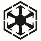 Sith Empire Logo Decal  - Choose Size & Color - Star Wars Darth Dark Side $2.5 USD on eBay