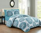 6 Piece Medallion Reversible Bedspread/Quilt Set image