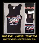 VTG Evel Knievel 70s Ideal Harley Davidson Motorcycle womens Tank Top T-shirt DS $37.8 USD on eBay