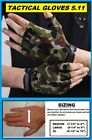 TACTICAL SERIES FINGERLESS FISHING AND HUNTING CAMO SUN GLOVES +50UPF NEW!
