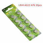 20Pcs LR44 Button Battery 1.5V AG13 GPA76 L1154 Powerful Mini Coin/Button Cell