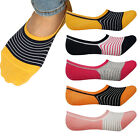 Women No Show Socks Cotton Blend Non Slip Low Cut Lot Invisible Fake Cat Sock