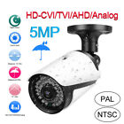 5MP HD CCTV Security Camera AHD/TVI/CVI/CVBS 4in1 Outdoor Night View Waterproof
