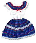 Kyпить Mexican Dress Cambaya Two Piece Set Top with Skirt на еВаy.соm