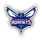 Charlotte Hornets Logo Basketball NBA Fan Vinyl Sticker Decal Car Window Bumper on eBay
