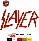 SLAYER Die Cut Decal Vinyl Sticker for Car Truck Vinyl Wall Window - Made in USA $2.99 USD on eBay