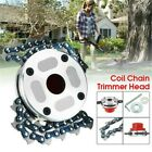 Trimmer Head Coil Chain Brush Cutter Garden Grass Trimmer for Lawn Mower hot