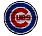 Chicago Cubs Wood Logo Vinyl Sticker Decal *SIZES* Large Cornhole Wall Bumper on Ebay