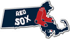 Massachusetts Boston Red Sox Baseball LOGO Vinyl Sticker Decal Cornhole Car Wall on Ebay