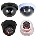 Surveillance Dome Security Dummy Camera Fake Monitor CCTV Flashing LED Light-