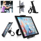 "Universal 4-12"" Mic Stand Bike Phone Tablet Holder Bicycle Handlebar Mount"