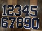 9724 New York YANKEES Number KIT For Authentic AWAY JERSEY Choose Any Number 0-9