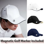 Golf Cap With Magnetic Marker Golfers Baseball Cap Mens Womens Golfing Sun Hat