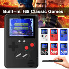 Retro Mini Handheld Video Game Console Gameboy Built-in 168 Classic Games Gift