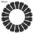 100Pc Hook Lock Display Cabinet Shelf Lock Of Retail Store For Mobile Phone