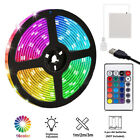 1-5m Usb Led Strip Lights Battery Operated Controller Color Change Home Decor