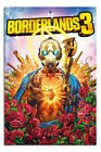 Laminated Borderlands 3 Gaming Cover Poster Official Licensed 24 x 36 Inches