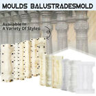 Roman Moulds Balustrades Mold for Concrete Plaster Cement Casting Garden DIY  image