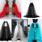 Hot Women Tulle Tutu Long Elastic Waist Skirt Wedding Party Prom Mesh Maxi Dress