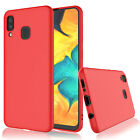 For Samsung Galaxy A20/A30/A50 Ultra Slim Shockproof Soft Rubber Case Back Cover