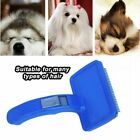 Pet Hair Brush Self Cleaning Dog Puppy Cat Kitten Comb Grooming Rabbit CR