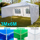 Dayplus Waterproof 3MX6M Gazebo Marquee Garden Awning Party Tent Canopy Outdoor