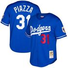 Mike Piazza #31 Los Angeles Dodgers Men's M&N Royal Cooperstown Throwback Jersey on Ebay
