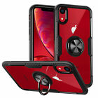 Soft TPU Case Cover Magnetic Ring Holder Kickstand For iPhone 8 7Plus XS max XR