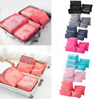 6Pcs/Set Travel Storage Bag for Clothes Luggage Packing Cube Organizer Suitcase