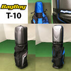 Bag Boy T-10 Travel Cover with Hard Top x 2 (Black/Blue & Black/Silver)