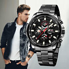Men's Classic Stainless Steel Band Automatic Mechanical Wrist Watch Watches Date