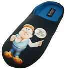 Tetley Mens Gaffer Official Printed Cushioned Mule Slippers