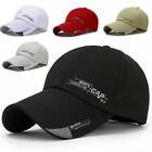 Fashion Outdoor Sports Quick Drying Sunshade Cap Adjustable Baseball Caps Hat