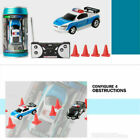 Coke Can Car Mini Speed RC Radio Remote Control Police Light Racing LED Gift New $16.48  on eBay