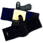 Galco Ankle Lite Kel Tec P32/P3AT Ruger LCP Holster Black Right Hand AL436B