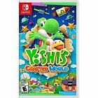 Yoshi's Crafted World (Nintendo Switch, 2019) BRAND NEW FACTORY SEALED