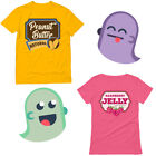 Peanut Butter and Jelly Funny Halloween Matching Couple T-Shirt Easy Costume Set