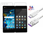 3 Pairs For ZTE Axon M Left + Right HD Clear Screen Protector Guard Film