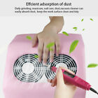 65W Portable Nail Suction Dust Collector Cleaner Vacuum Fan Manicure Machine