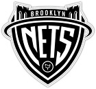Brooklyn Nets NY NBA Basketball Logo Vinyl Sticker Decal Cornhole Truck Bumper on eBay