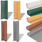 PVC Fence Screen Bamboo Mat Border Panel Garden Wall Privacy Multi Sizes Colours