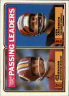 1983 Topps Football (Cards 201-396) (Pick Your Players) $0.99 USD on eBay