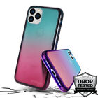 Safetee Flow iPhone 11/ Pro/ Max Case Clear Gradient Multicolor Cover Shookproof