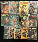 TARZAN COMICS LOT OF 39  (#28-188) DELL/GOLD KEY GD TO FN+ CONDITIONS 1952-1962 image