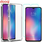 For Xiaomi Mi 9T Pro/Redmi Note 7 6 5 Pro/K20 Pro Shockproof Case+Tempered Glass
