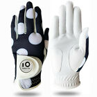 Cabretta Leather Women's Golf Glove With Ball Marker Right & Left Hand Available