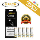 100 Authentic Cleito Replacement Coils 5 Pack Same Day Shipping from USA