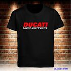 NEW BLACK T SHIRT DUCATI MONSTER MEN'S TSHIRT S TO 3XL USA SIZE